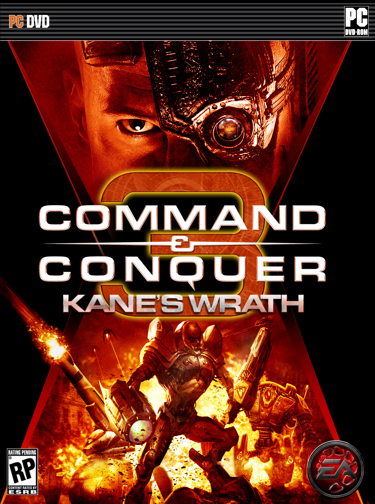 Command & Conquer 3 Tiberium Wars + Kane's Wrath (2007-2008) PC